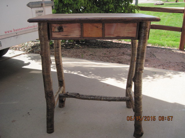 16 x 24 x 26 end table front 2 5-15-15