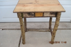 16 x 24 x 26 end table 2 10-23-15